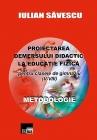 Proiectarea demersului didactic la Educaţie Fizică V-VIII